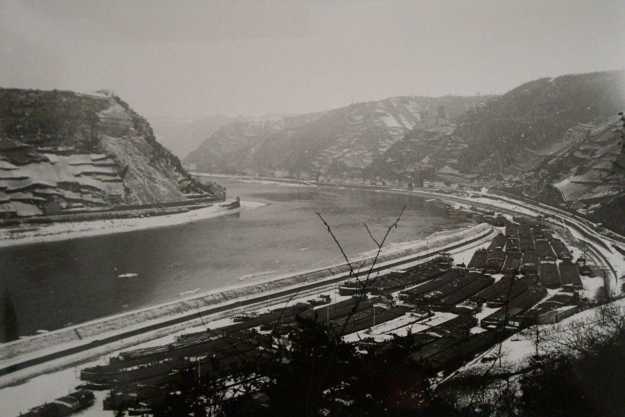Eiswinter im Loreleyhafen